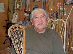 Alf Jacque crafts traditional sticks