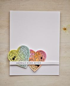 Love & Marriage Revisited: Happily Ever After Card by Maile Belles for Papertrey Ink (April 2015)