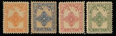 MXN $292.68 in Estampillas, Asia, Bután