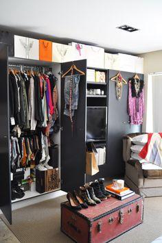 Inside Elle Ferguson from They All Hate Us Blog's Wardrobe