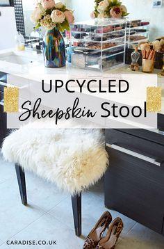 Upcycled Sheepskin S
