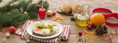 Salmone al forno con patate lesse e crema di Certosa all'arancia