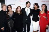 Gimme Shelter premiere Kathy, Vanessa, Ann, Ron, Rosario, Mrs Tashi