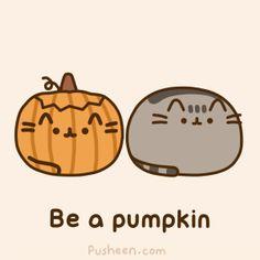 =^. .^= Look, I can pumpkin too!