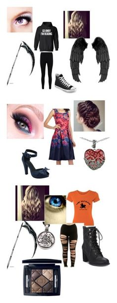"""""""Demigod Fashion"""" by darker-daydream ❤ liked on Polyvore featuring Boohoo, Converse, Whistle & Wolf, Lord & Taylor, American Rag Cie and Christian Dior"""
