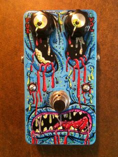 GERMFACE Germanium transistor Fuzz Face clone by strangeamps, $80.00