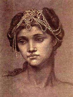Study for and Painting of Medea, 1889, Evelyn de Morgan