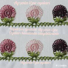 (Knit & Crochet) A friend aske Crochet Borders, Filet Crochet, Knit Crochet, Tatting Lace, Needle Lace, Baby Knitting Patterns, Crochet Flowers, Sari, Needlework