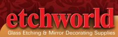 etchworld armour is the leading supplier of glass etching and mirror decorating products.  #crafts