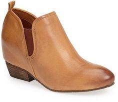 Naya 'Felix' Leather Bootie (Women) on shopstyle.com