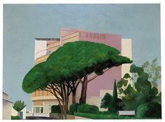 Hotel l'Arbois, Sainte-Maxime, 1968 - David Hockney