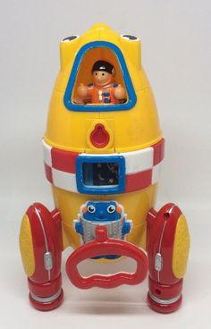 Wow Toys Ronnie Rocket w/ Astronaut Figure Preschool Fun (48410230) EXCELLENT #WOWToys