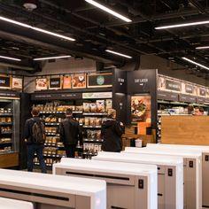 Inside Amazon Go a Store of the Future