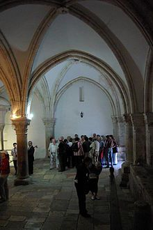 The Cenacle, or Upper Room, on Mount Zion, location of the first Pentecost