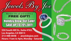 Looking to get that special someone something really stunning? Check out Jewels By Joe. They have so many pieces that will take their breath away. #DTLA #LA #LosAngeles #DowntownLA #DowntownLosAngeles #JewelsByJoe #jewelry
