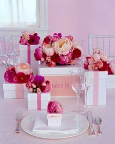 Fall+Bridal+Shower+Centerpieces | DIY GIFT BOX IDEAS FOR BRIDAL SHOWER CENTERPIECES AND LUNCHEONS
