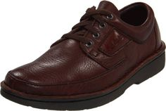 Clarks Men's Natureveldt Oxford,Brown,9 M US -  Explore wide-ranging activities with the Natureveldt oxford from Clarks. Active AirTM system absorbs shock and returns energy. The polyurethane outsole provides durable, flexible cushioning for downtown to outback wandering. Product Features  Soft tumbled leather uppers Dual density ... #Shoes
