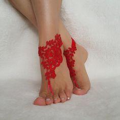 rosso ıvory blu sandali a piedi nudi spiaggia matrimonio