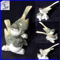 Lladro Figurine Birds - ( Grupo de Pajaros ) # 01004667 - eBay Seller ID:  Phantom*SF