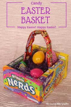DIY Candy Easter Bas