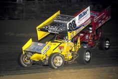 Fred Rahmer and Lance Dewease battle at East Bay in February 2004