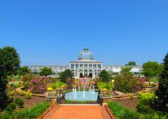 Lewis Ginter Botanical Gardens in Richmond, Virginia #gardens, #Virginia