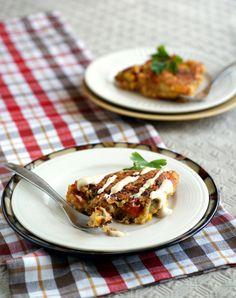 Breakfast Recipe: Egg-Free Quinoa Fritatta #vegan #recipes #glutenfree #healthy #plantbased #whatveganseat #breakfast