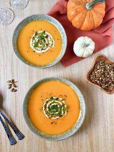 Crema de calabaza y zanahorias  http://irenecocinaparati.com/crema-calabaza-zanahorias/
