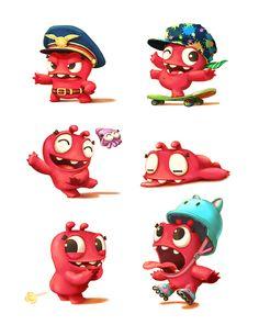 Character Concept Arts. Environment Concept Arts