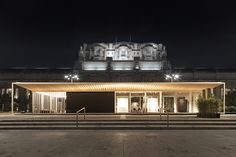City Pavilion - Expo Milano 2015 - Photo by Santi Caleca - Architectural and lighting project: Vudafieri Saverino Partners - Lighting products: iGuzzini illuminazione #Expo2015 #iGuzzini #Lighting