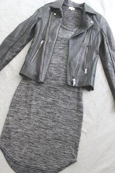 grey + black