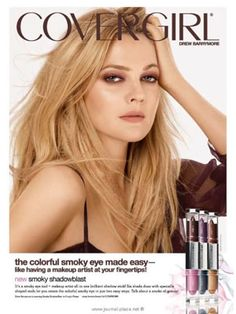Drew Barrymore media gallery on Coolspotters. See photos, videos, and links of Drew Barrymore. Drew Barrymore, Beauty Makeup, Hair Makeup, Makeup Ads, Eye Makeup, Girls Foto, Vogue, L'oréal Paris, Girls Makeup