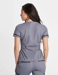 Modern Scrubs and Lab Coats for Men and Women by Jaanuu Cute Nursing Scrubs, Cute Scrubs, Nursing Clothes, Nursing Uniforms, Medical Uniforms, Scrubs Outfit, Scrubs Uniform, Lab Coats For Men, Doctor Scrubs