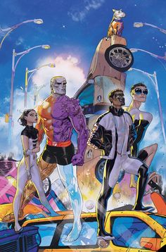TERRIFICS #8 DC COMICS 1st Print Eaglesham Lemire Atiyeh Metal