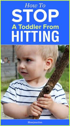 How To Stop A Toddler From Hitting : 15 Effective Ways To Deal With It - MomJunction #parenting #kids
