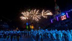 Melihat Orkestra Band Militer Internasional di Rusia