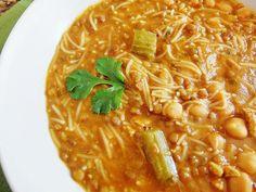 Viajamos hasta Marruecos con la sopa Harira, de verduras, carnes y legumbres