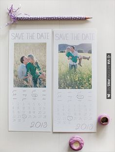 Free Printables 2013 Watercolor Save the Dates | CHECK OUT MORE IDEAS AT WEDDINGPINS.NET | #printableweddingtemplates