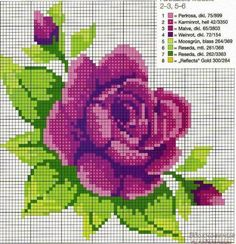 This Pin was discovered by Yam Cross Stitch Heart, Cross Stitch Flowers, Cross Stitch Kits, Cross Stitch Designs, Cross Stitch Patterns, Embroidery Patterns Free, Embroidery Fabric, Cross Stitching, Cross Stitch Embroidery