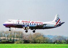 G-APEY Vickers Viscount 806 British AIr Ferries