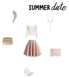 """""""Untitled #144"""" by breezy-bree21 on Polyvore featuring Chicwish, Charlotte Russe, Marina Galanti, DateNight, drivein and summerdate"""
