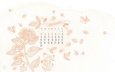 September calendar by oanabefort, via Flickr