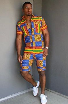 LOOKING NICE AfricanFashion Tenue Africaine Pour Homme, Vêtements Homme,  Style Urbain Pour Hommes