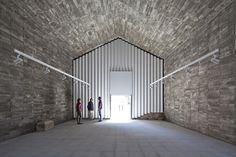 héctor fernández elorza transforms 17th century spanish chapel into local cultural centre