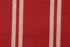 Kravet Woven Upholstery Fabric in Red
