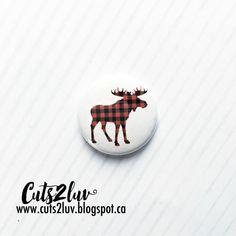 """badge 1 """"flat back for crafts, scrapbooking, cardmaking, projects etc. Badge, Moose, Etsy, Collection, Badges, Mousse, Elk"""