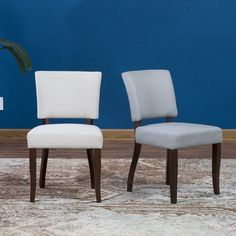 Belham Living Paige Open Back Dining Chair - Set of 2 | from hayneedle.com