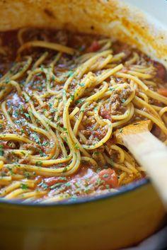 One Pot Spaghetti  - Delish.com