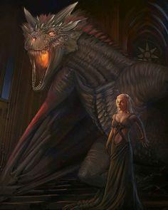 posted by gaming1empire via instagram :   《Daenerys Stormborn》by Lim Shin #GameOfThrones#DaenerysTargaryen#Targaryen#EmiliaClarke#HouseTargaryen#dragons#dragon#drogon#rhaegal#viserion#hbo#whitewalker#nightking#jonsnow  jonsnow,viserion,targaryen,housetargaryen,whitewalker,emiliaclarke,rhaegal,hbo,dragon,daenerystargaryen,dragons,drogon,gameofthrones,nightking