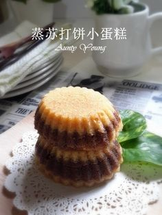 Aunty Young(安迪漾): 蒸苏打饼小蛋糕 (Mini Steam Cream Crackers Cake) Cream Crackers, Cheesecake, Muffin, Breakfast, Mini, Desserts, Food, Morning Coffee, Tailgate Desserts
